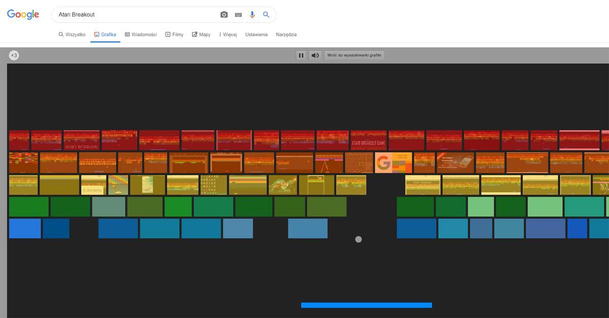 gry google atari breakout