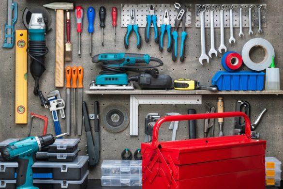 narzędzia w warsztacie